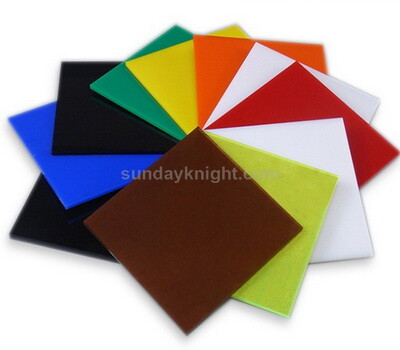 Custom color acrylic sheet