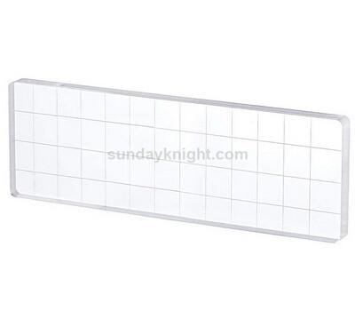 SKCC-037-2 Custom acrylic stamping block