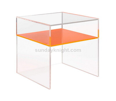 Acrylic end table wholesale