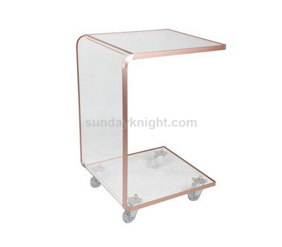Custom acrylic serving cart
