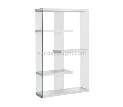 Custom acrylic bookshelf