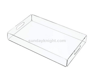 Personalized clear acrylic tray