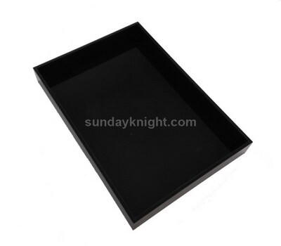 Black acrylic tray wholesale