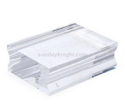 SKCC-043 Small Acrylic Block 38 x 50mm for mounting clear stamps