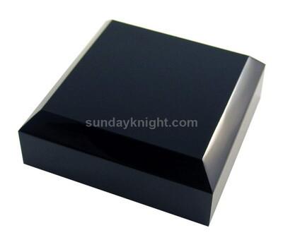 Custom acrylic black base