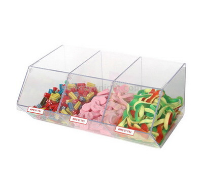 Clear acrylic bulk candy bins wholesale