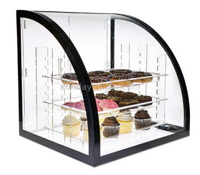 Custom acrylic cake display case