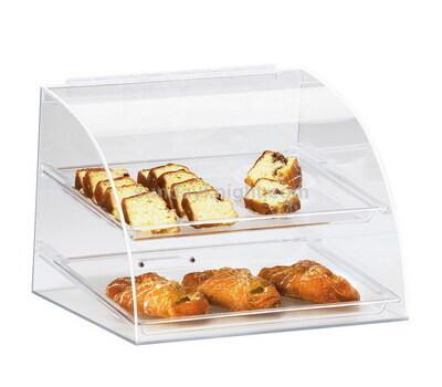 Acrylic bread display case wholesale