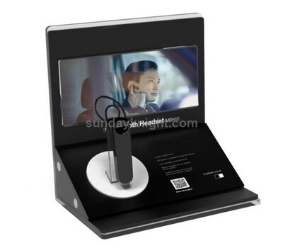 Bluetooth headset display stand