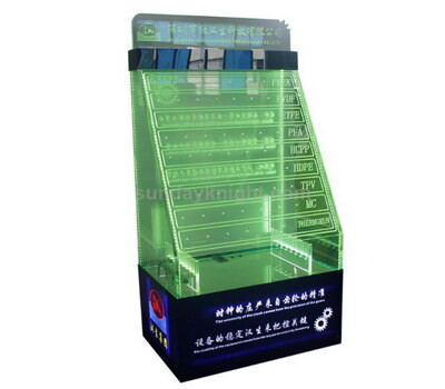 Custom acrylic display racks