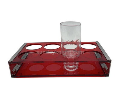 Acrylic 8 wine glass holder