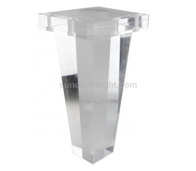 Custom lucite table legs