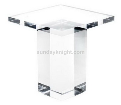 Custom acrylic bed legs