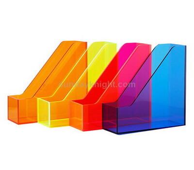 Custom acrylic desktop file organizer
