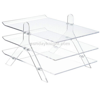 SKBH-244-1 Clear acrylic file holder wholesale