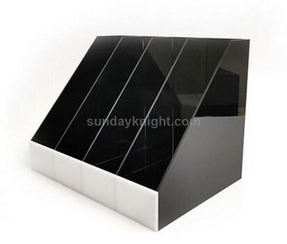 Custom acrylic file folder holder