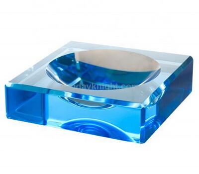 Custom acrylic block soap dish