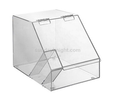 Custom supermarket Clear Acrylic Candy Container