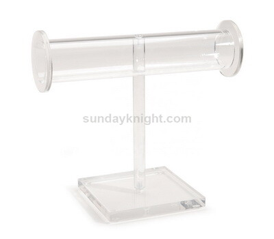Acrylic Bracelet or Necklace T-Bar Display Stand