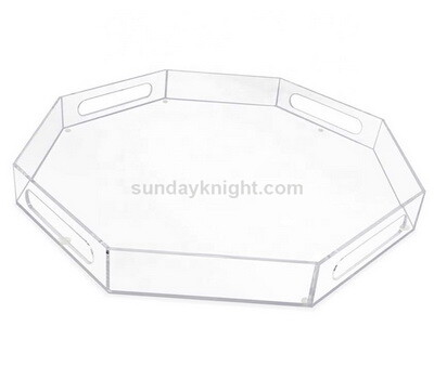 Custom polygon acrylic tray