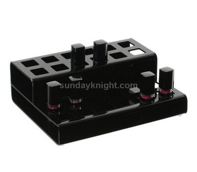 Black acrylic lipstick display holder