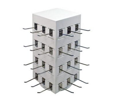 Custom pigboard acrylic display stand