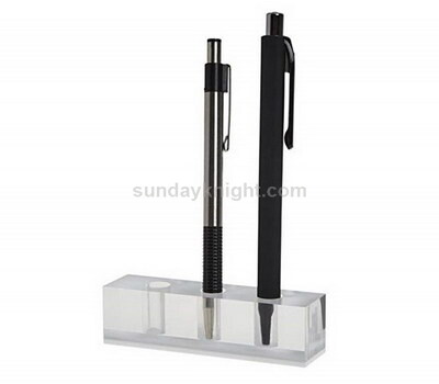Custom tabletop acrylic pen organizer
