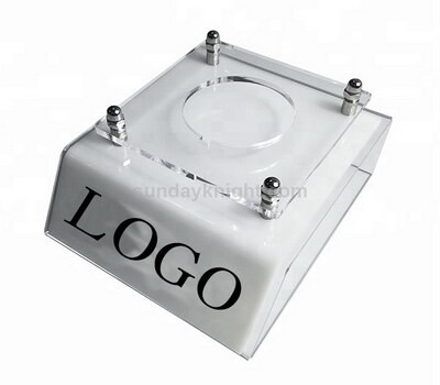 Custom acrylic camera lens display stand