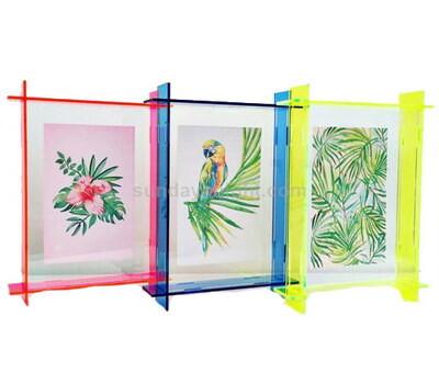 Custom acrylic photo frames