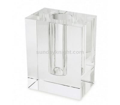 Acrylic block bud vase wholesale