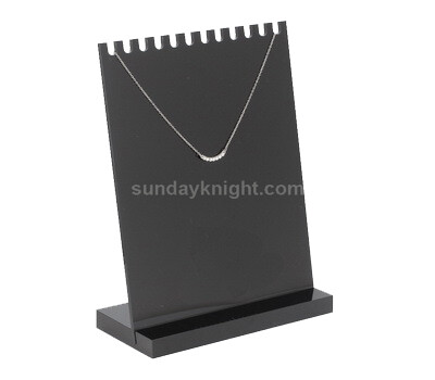 Custom jewelry necklace display stand