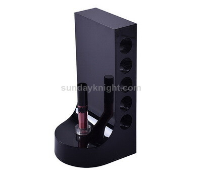 Black acrylic lipstick display stand