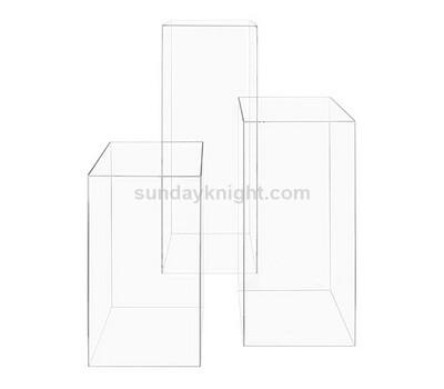 Custom acrylic pedestal