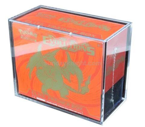 Custom Acrylic Booster Box ETB Box Theme Deck Box Wholesale