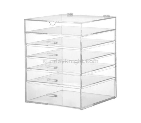 clear makeup boxes