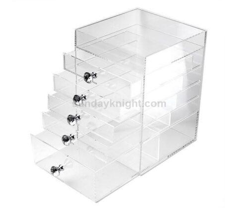 Custom makeup storage box acrylic makeup organizer wholesale
