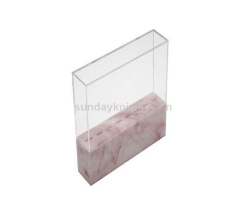 SKAB-190-1 marble acrylic tweezer stand
