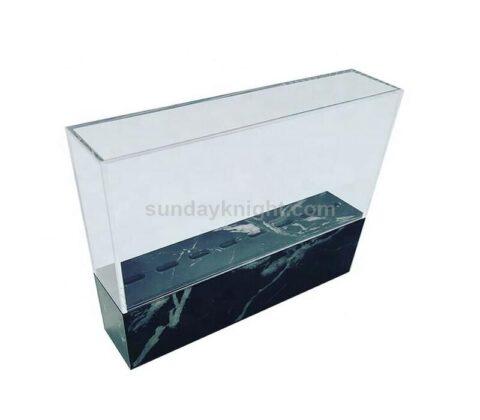 SKAB-190-2 marble acrylic tweezer stand