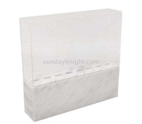 SKAB-190-3 marble acrylic tweezer stand
