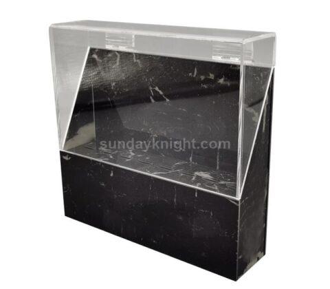 SKAB-191-1 Custom tweezers organizer case stand eyelash extension storage box