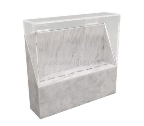 SKAB-191-2 Custom tweezers organizer case stand eyelash extension storage box