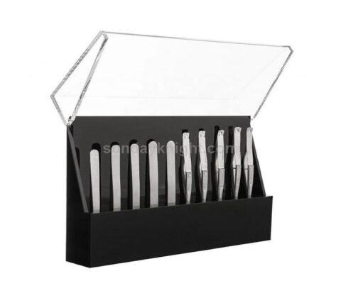 SKAB-191-3 Custom tweezers organizer case stand eyelash extension storage box