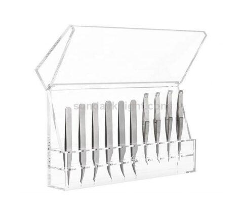 SKAB-191-5 Custom tweezers organizer case stand eyelash extension storage box