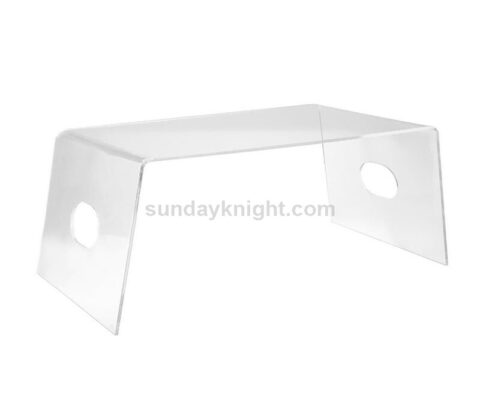 SKAF-161 Custom multifunction acrylic bed tray clear bed desk