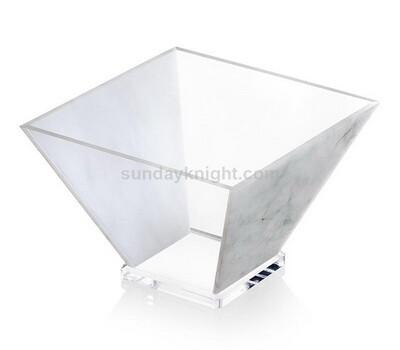 Custom acrylic salad bowl