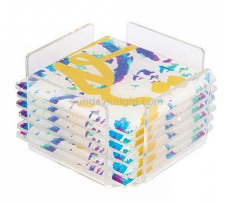 perspex coasters