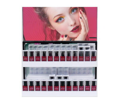 Custom gel polish display