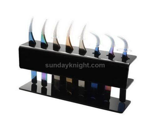Tweezer Holder Eyelash Extension Tweezer Stand Acrylic Tweezers Shelf wholesale