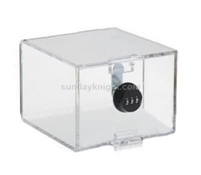 Custom Acrylic Box With Combination Cam Password Coded Lock