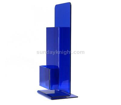 SKBH-264-1 Custom table top colored acrylic brochure holder